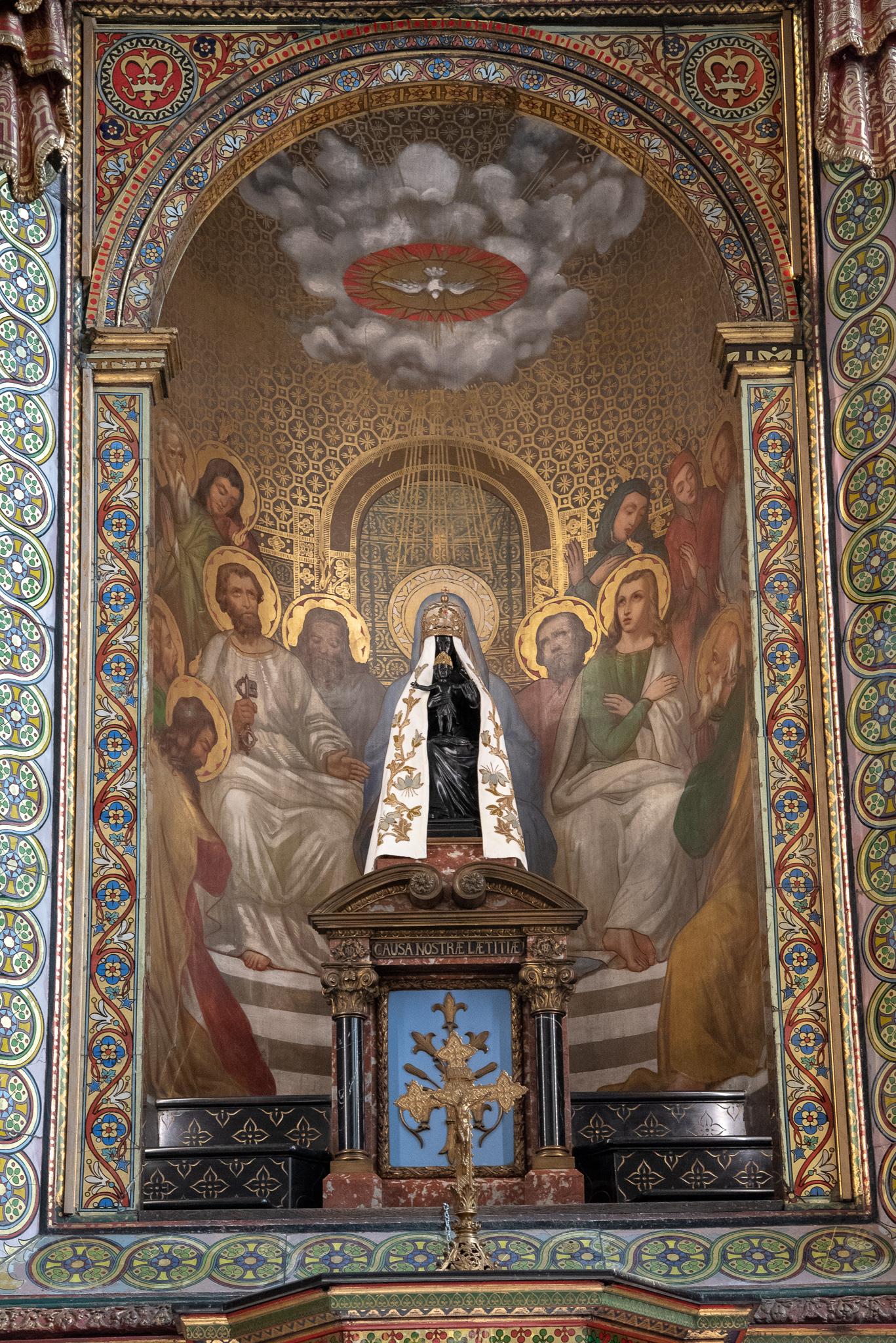 traject van Hailly: Heilige Maria in het kerkje van Liesse
