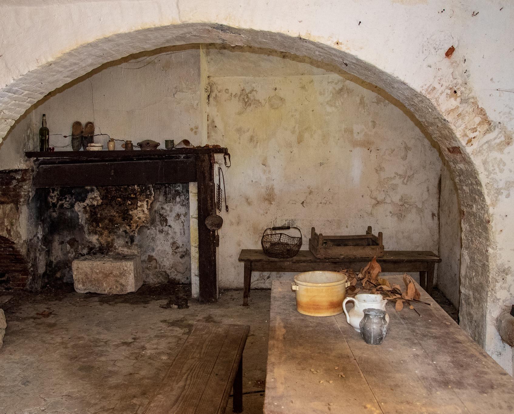 Laon Maison de vigneron Le Nain kelder